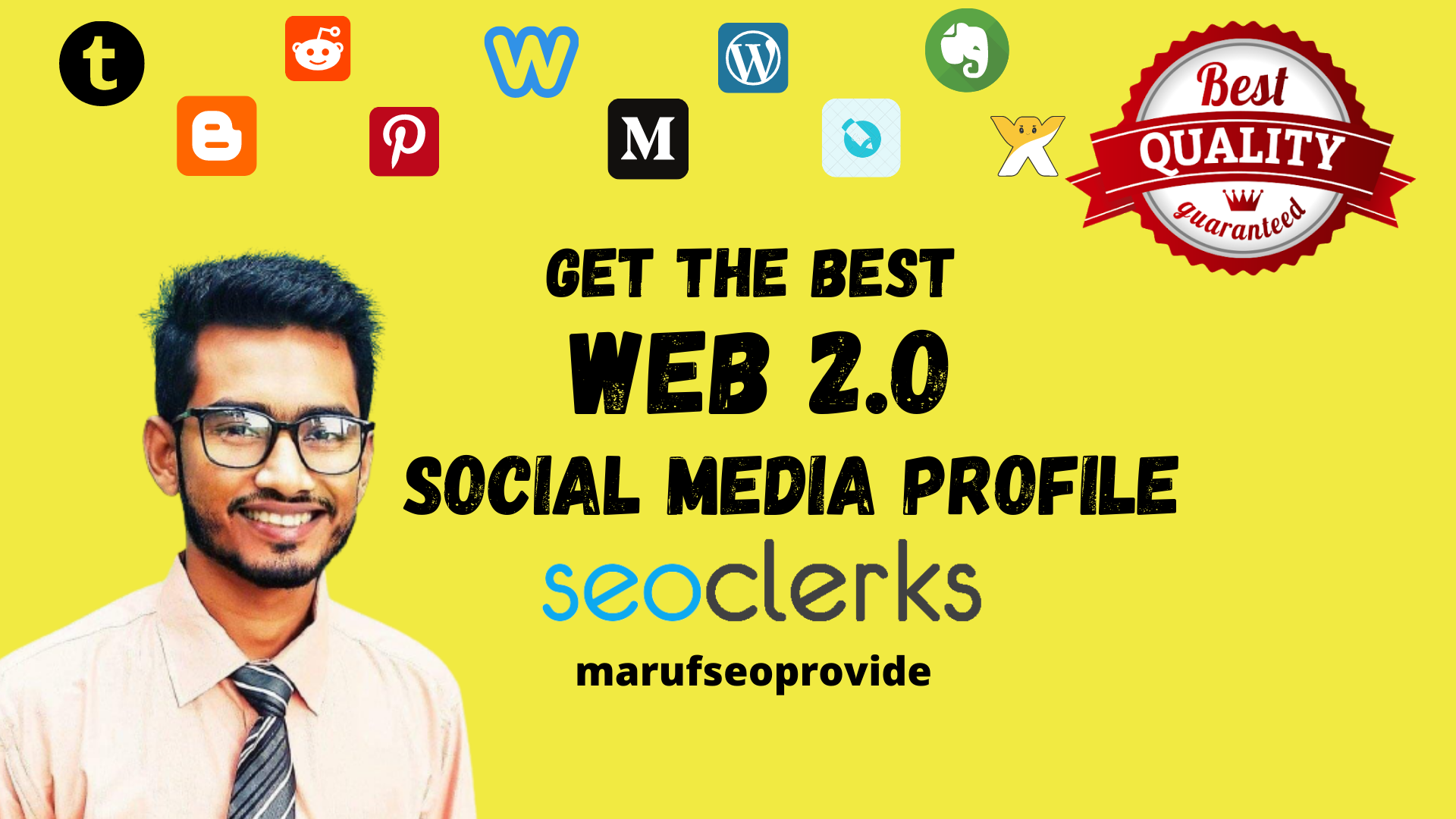 Get The Best Authority Web 2.0 Social Profile Backlinks