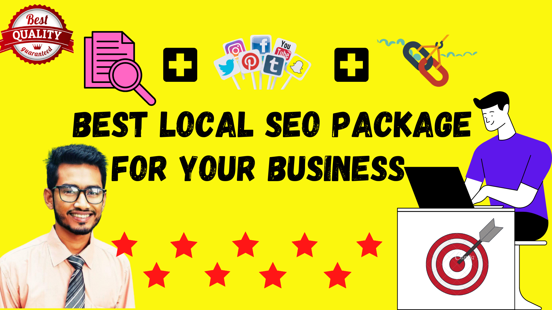 I will Rank Your Website By Magical SEO Package