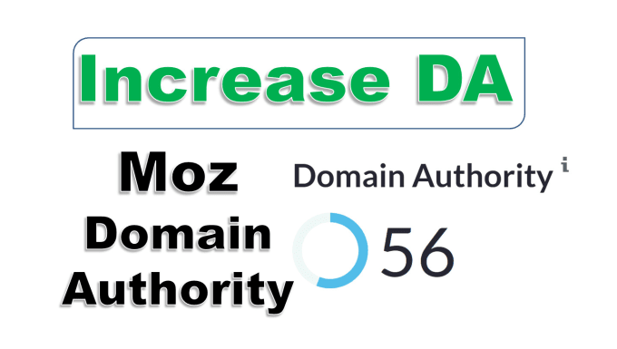 I will increase your domain authority da 40 plus DR 40 plus