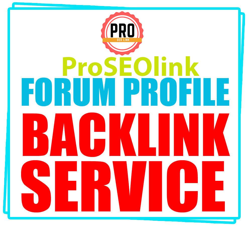 High Quality 2000 Forum Profiles Backlinks Site.