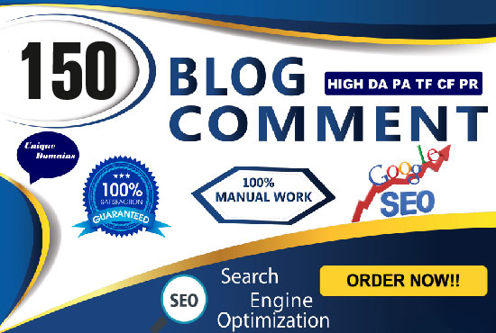 Manually Create 150 High Trust Flow Authority Blog Comment BackLinks