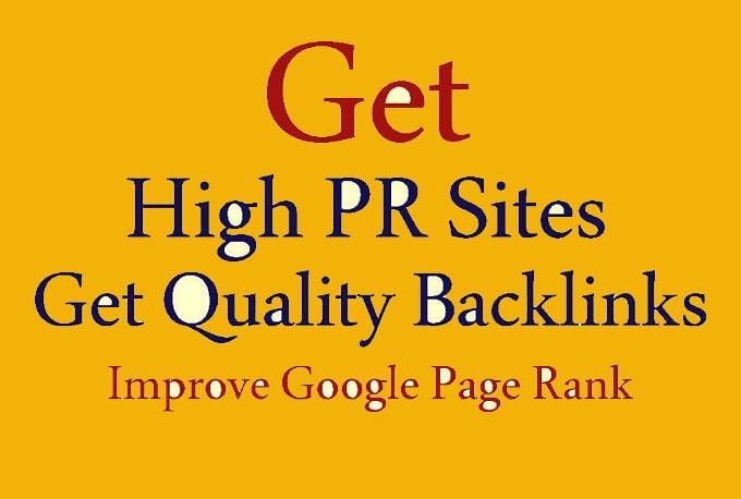 Rank Your Website On Google, 3500 High Quality Whitehat SEO Backlinks Manual Link Building.
