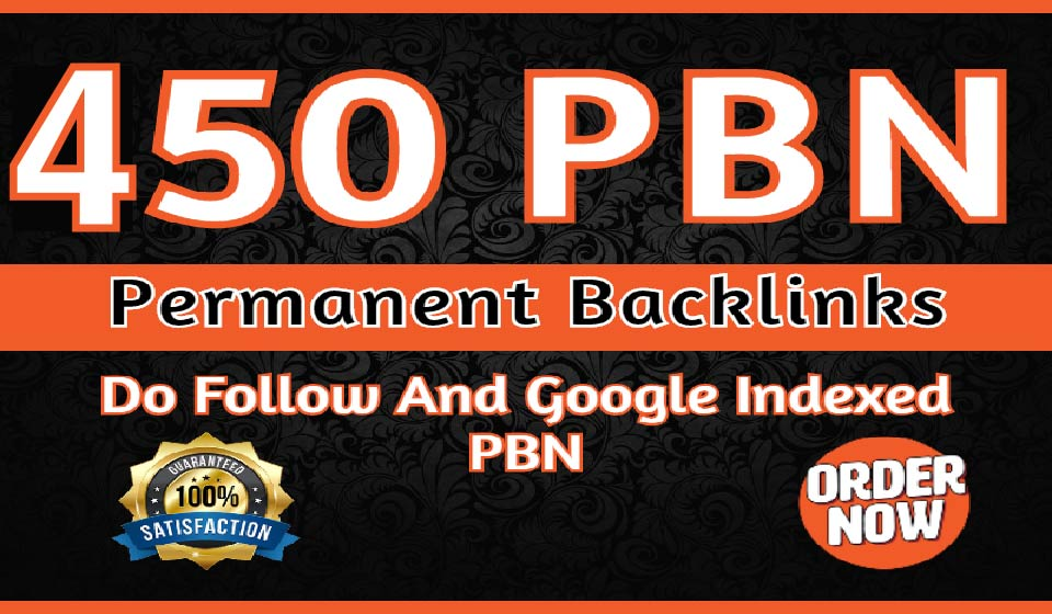 Rank Your Website on Google Create 450 Permanent DR 65 Homepage high quality PBN Dofollow Backlink