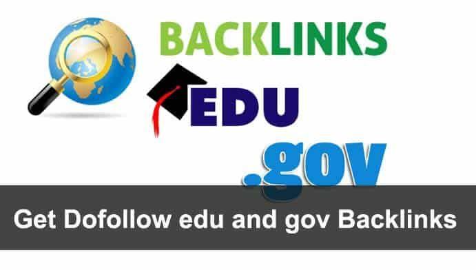 Create 150 EDU/GOV backlinks for your website rank in google