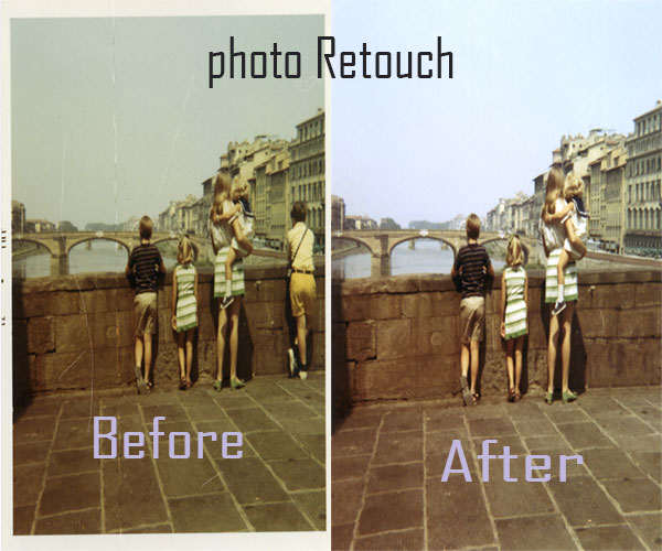 I will do any kind of photo repair,  restore,  colorized old damaged photo