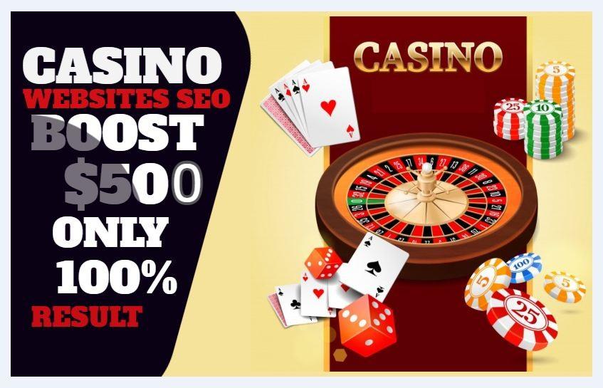 Build High Quality SEO Backlinks For Casino Or Gambling,  Poker Webiste