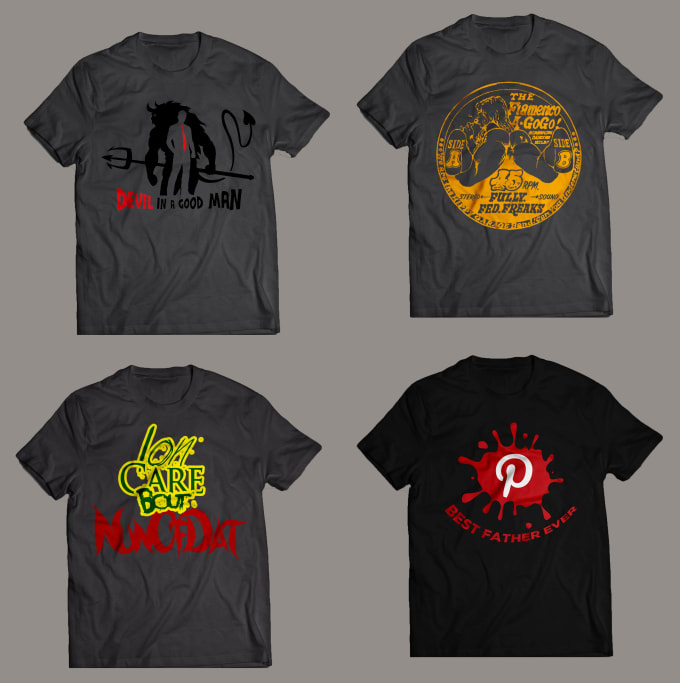 I will design eye catching t shirt design for you in 24 hours