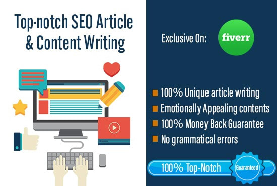 I will write 200 - 300 SEO friendly article for your website