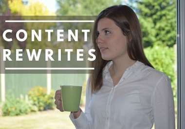 I will rewrite and improve 500+ articles or content