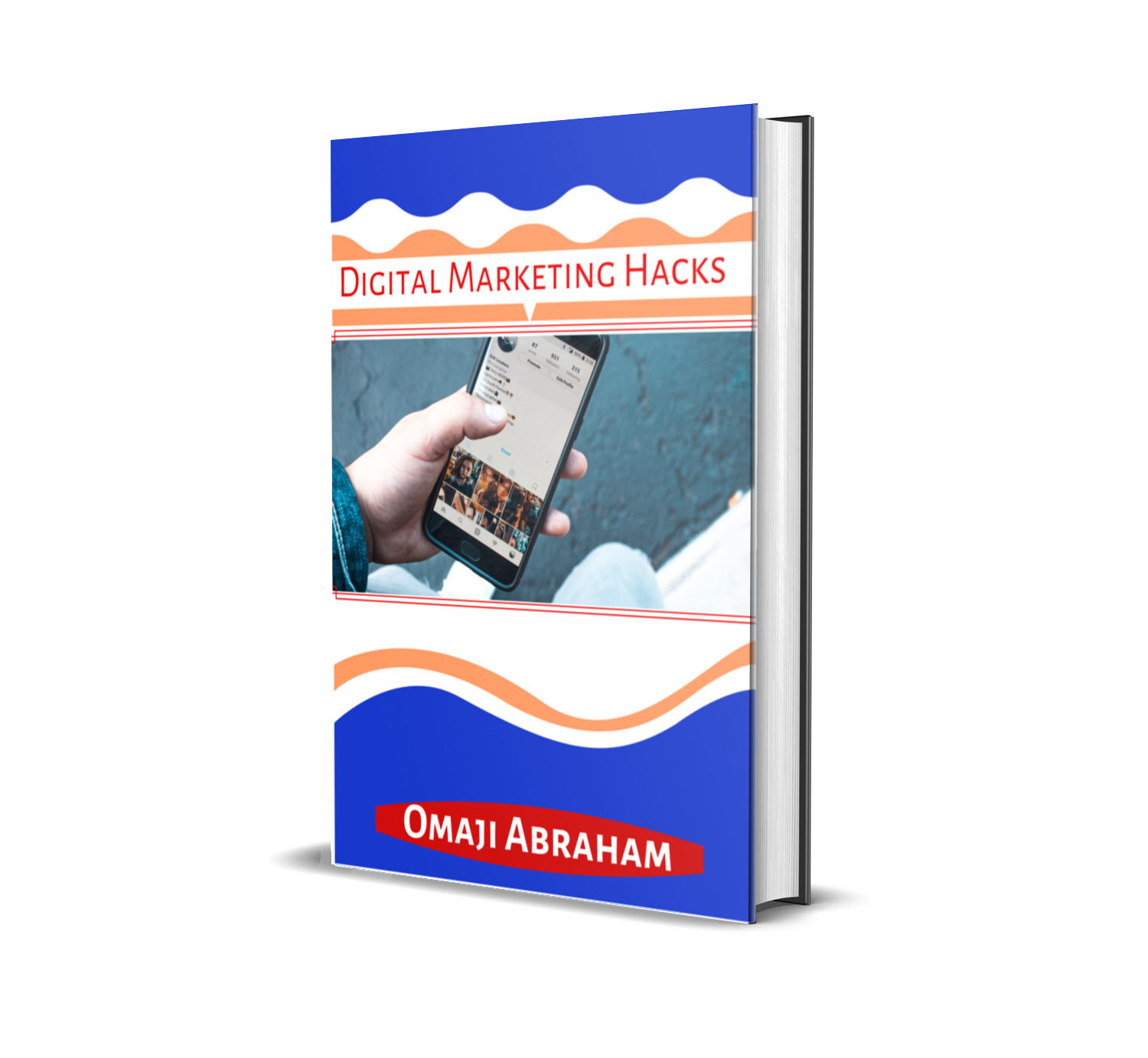 I can create awesome e-book covers for your next E-book.