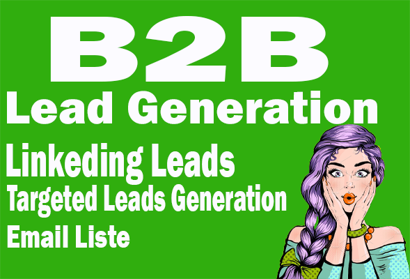 b2b lead generation and linkedin