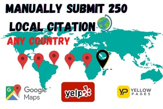 I will build local citation and directory submission upto 10 sites