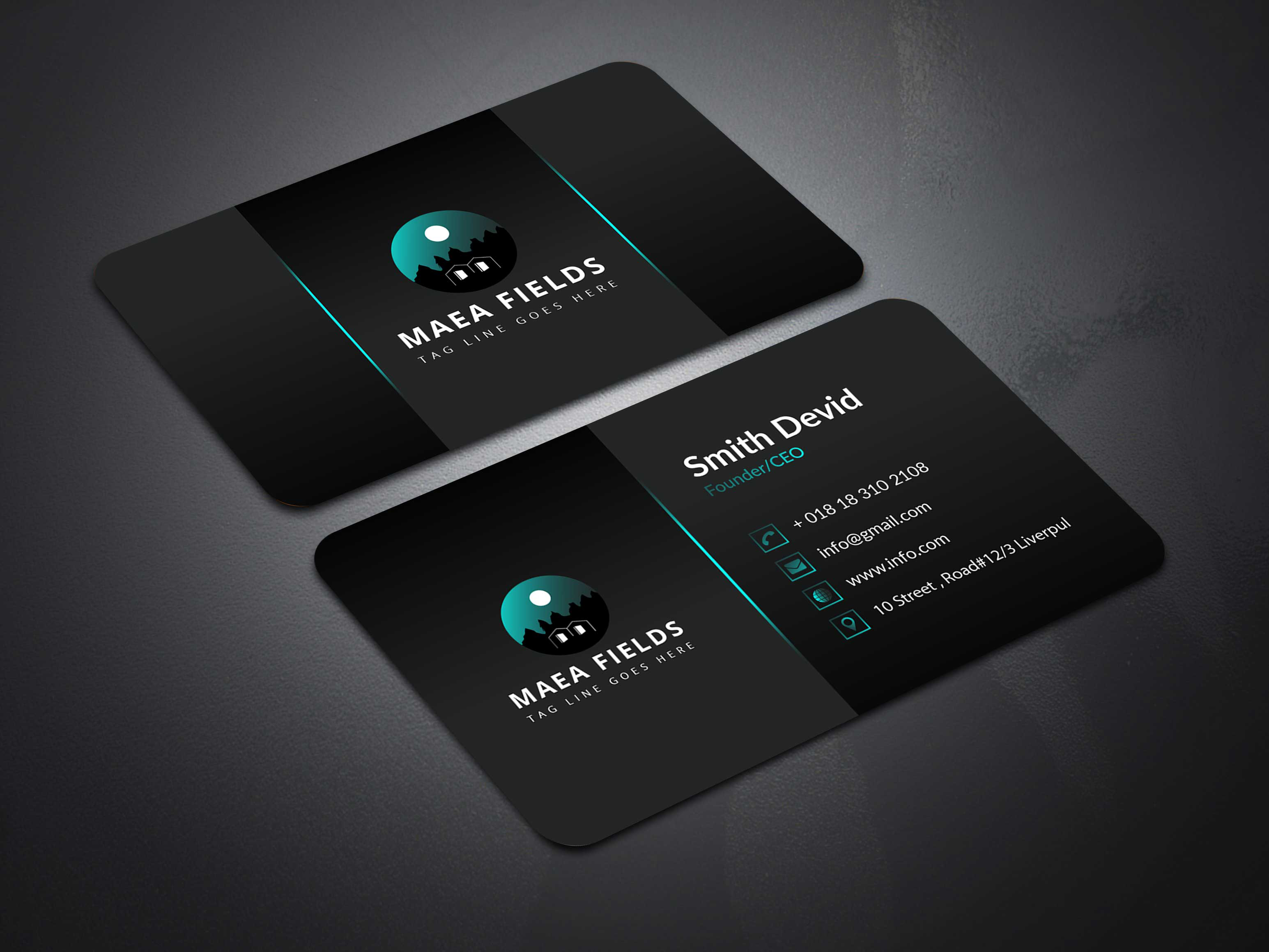 I will do professional business card design within 24 hours.