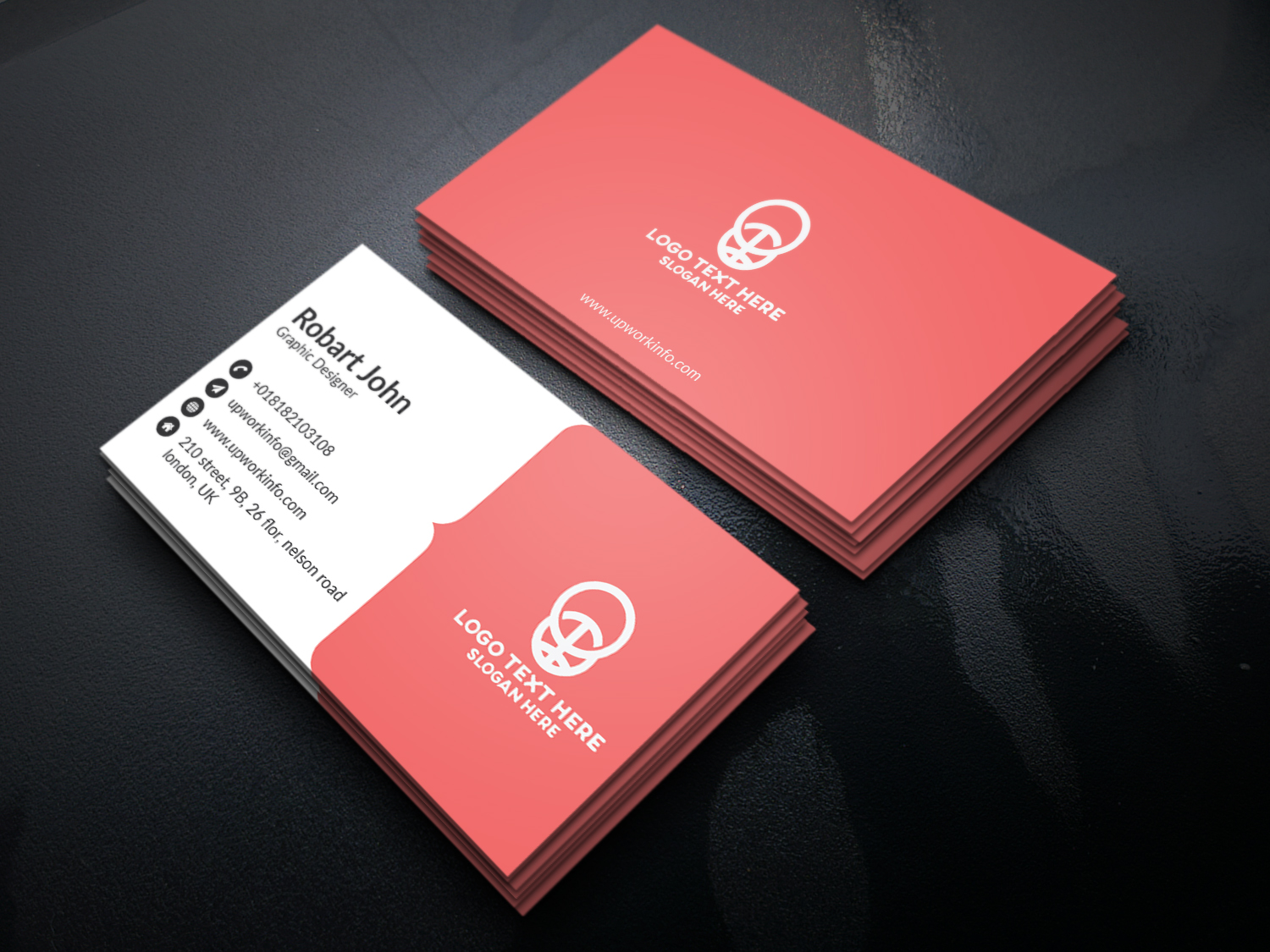 I will design modern, minimalist and premium looking business cards