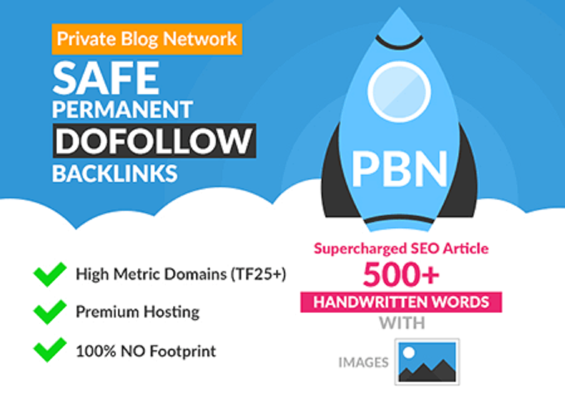 I will do 20 high quality PBN backlinks that will boost your website ranking