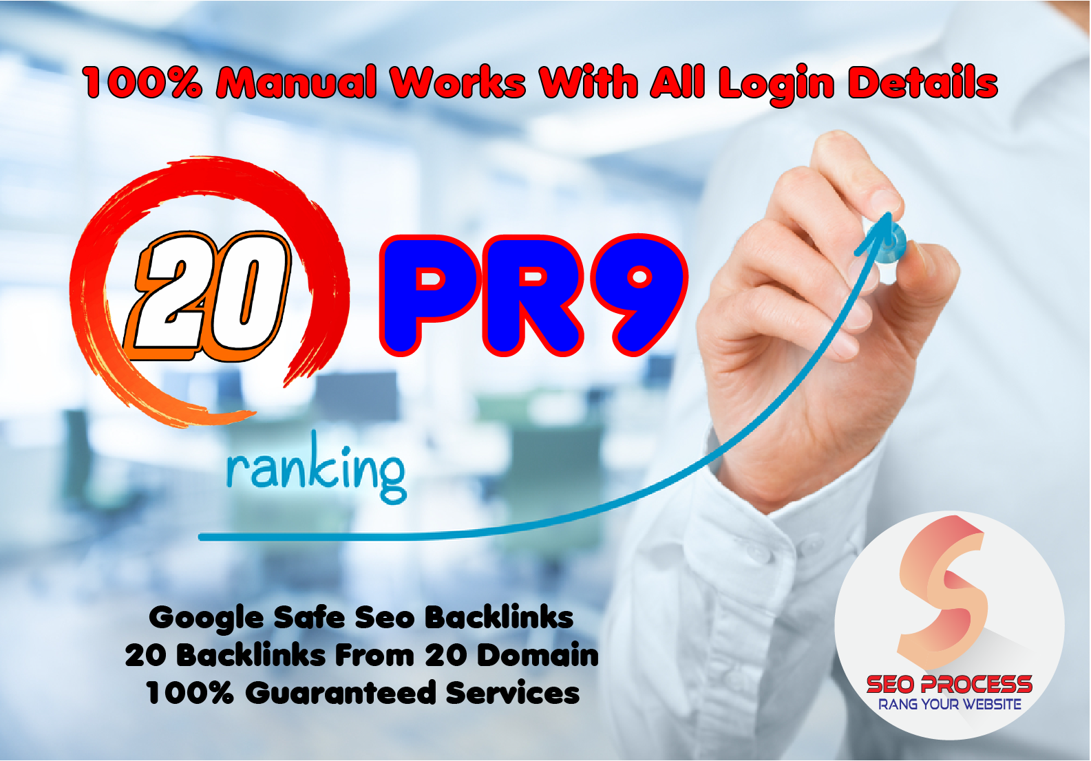 20 Pr9 - 80+ DA High Quality SEO Domain Authority Permanent Backlinks - Fire Your Google Ranking