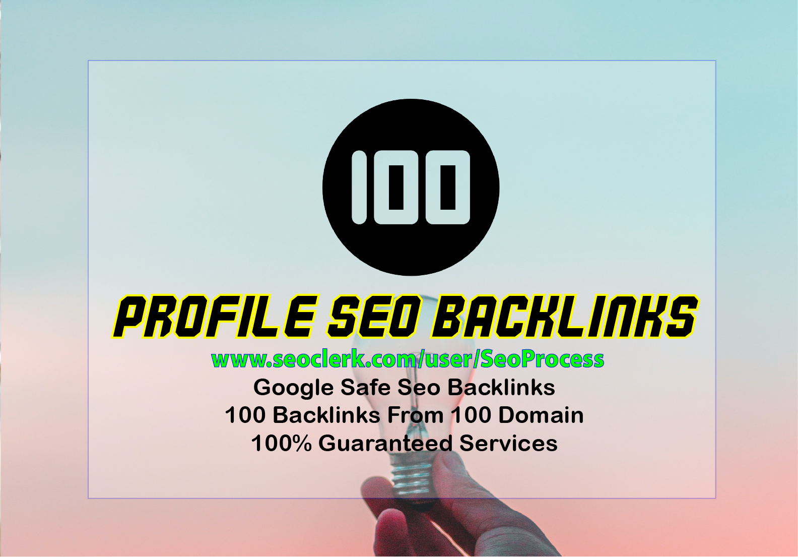 Limited Time - 100 Pr9 High Domain Authority Safe Seo Backlinks From - White Hat SEO