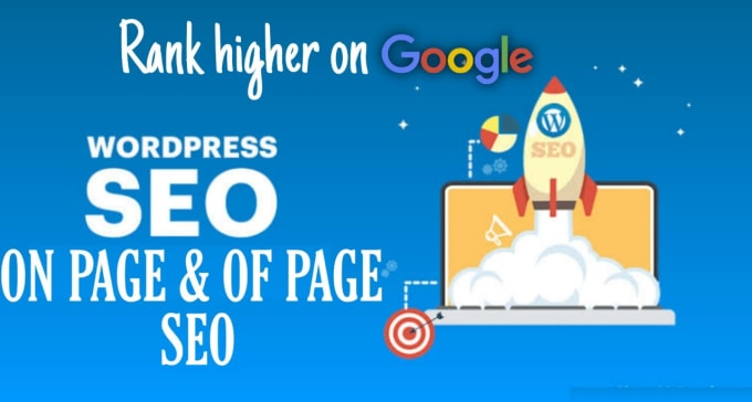 I will do complete on page and off page SEO of wordpress site