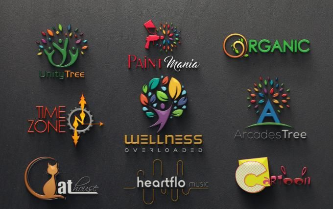 I will create MODERN and ATTRACTIVE Logo Designs in 24hrs