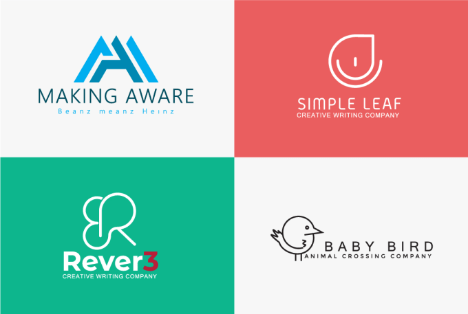 (3-4 Concepts) MINIMALISTIC and UNIQUE logo creator and designer IN 24hrs