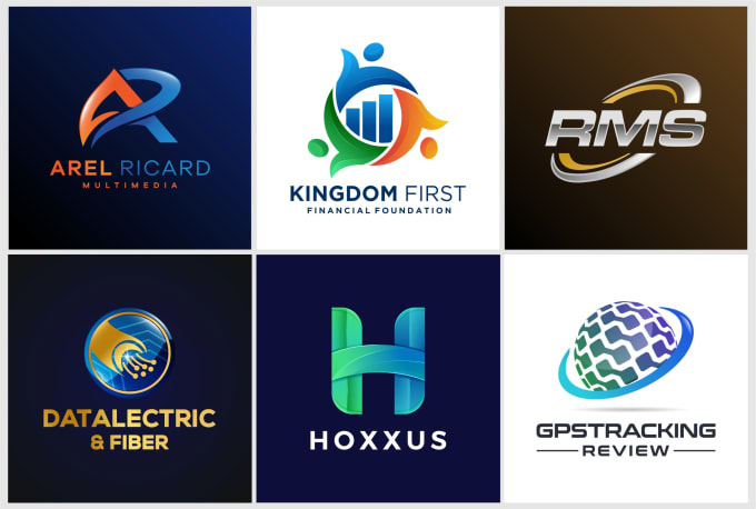 (3-4 Concepts) MODERN and ATTRACTIVE Logo Designs in 24hrs