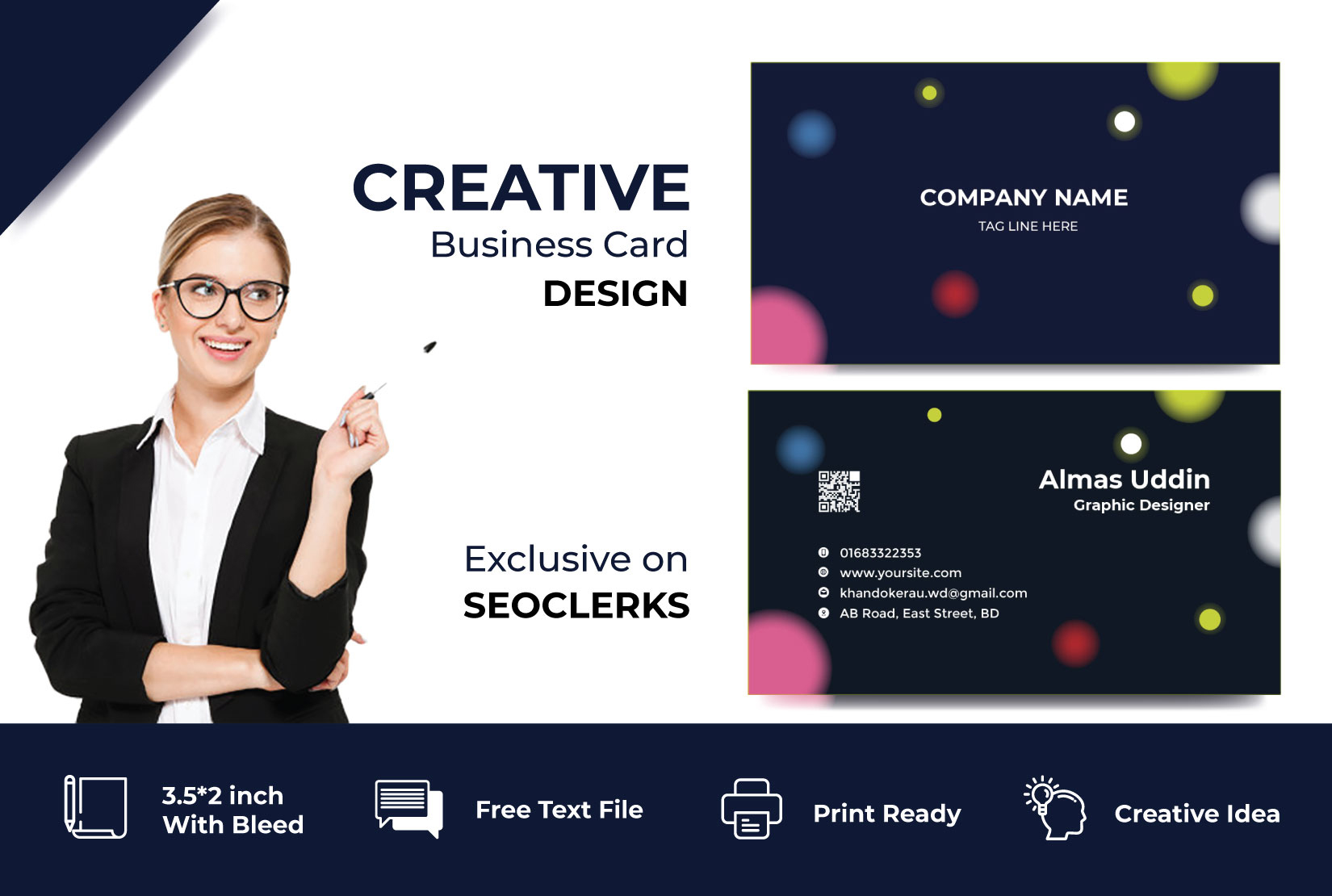 I will creat Luxury Business Card Designs