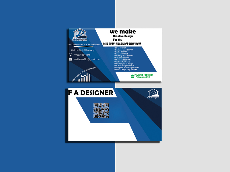I will design business card, letterhead, and stationery items