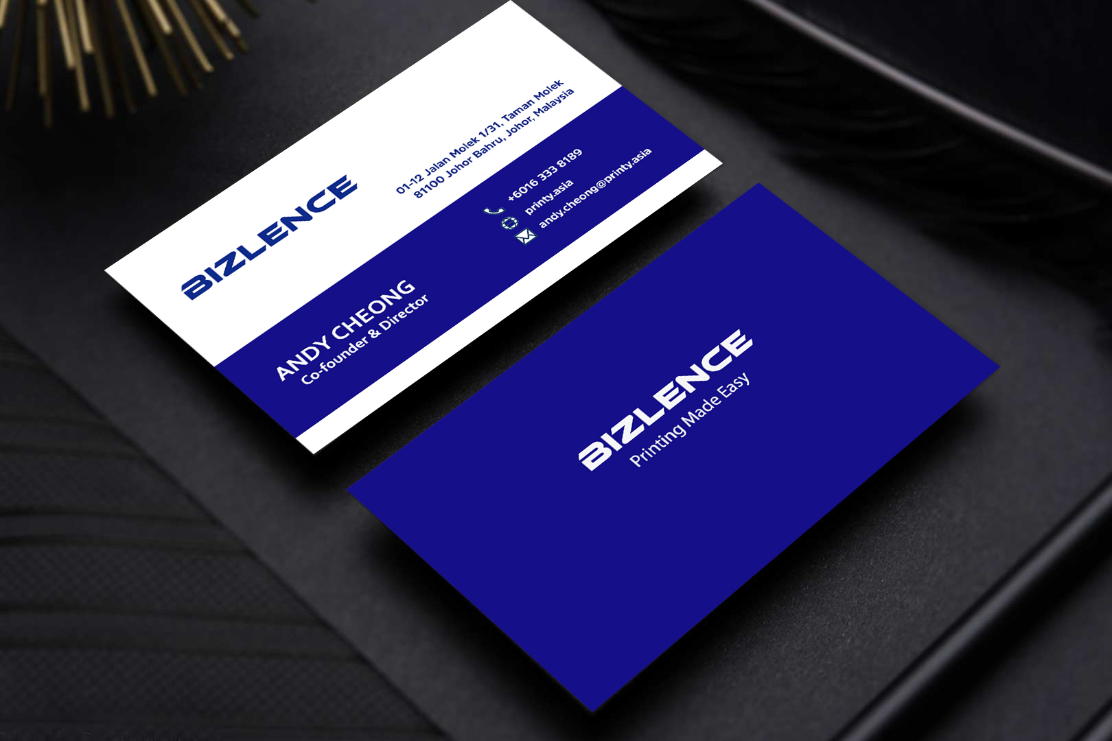I will make professional and unique business card