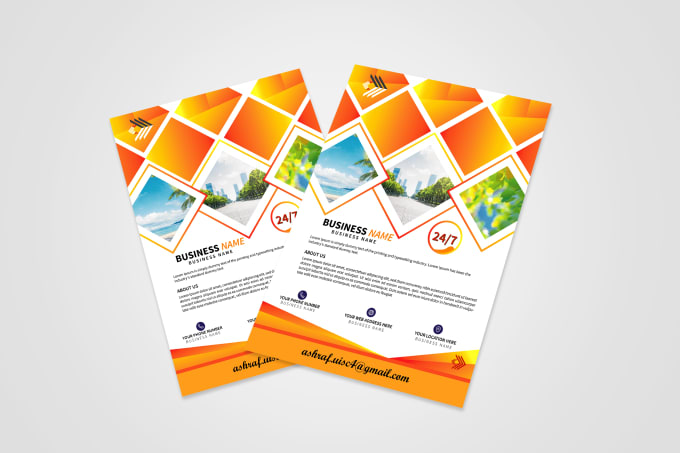 I will do awesome professional business flyer or brochure design