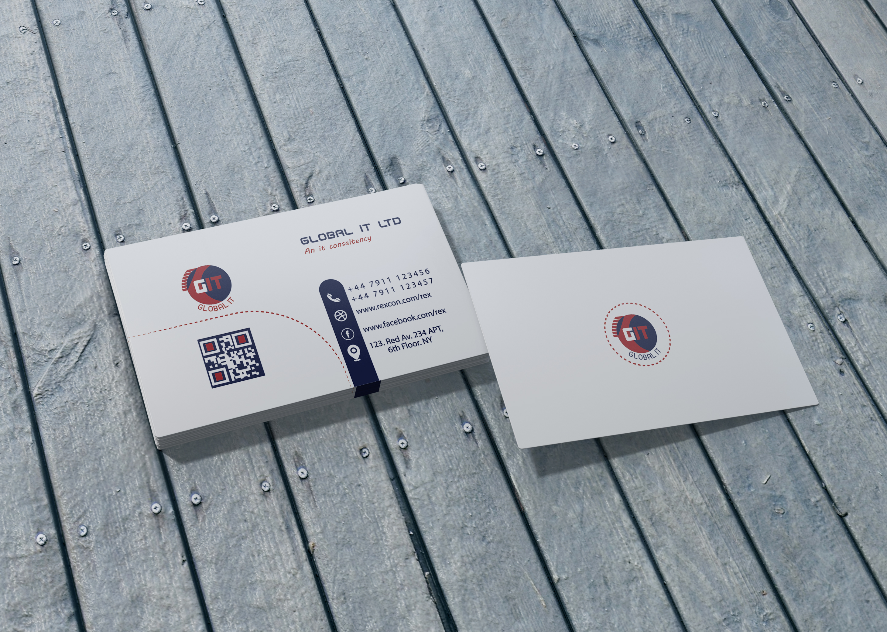 I will Design Professional Business Card With Five Concepts