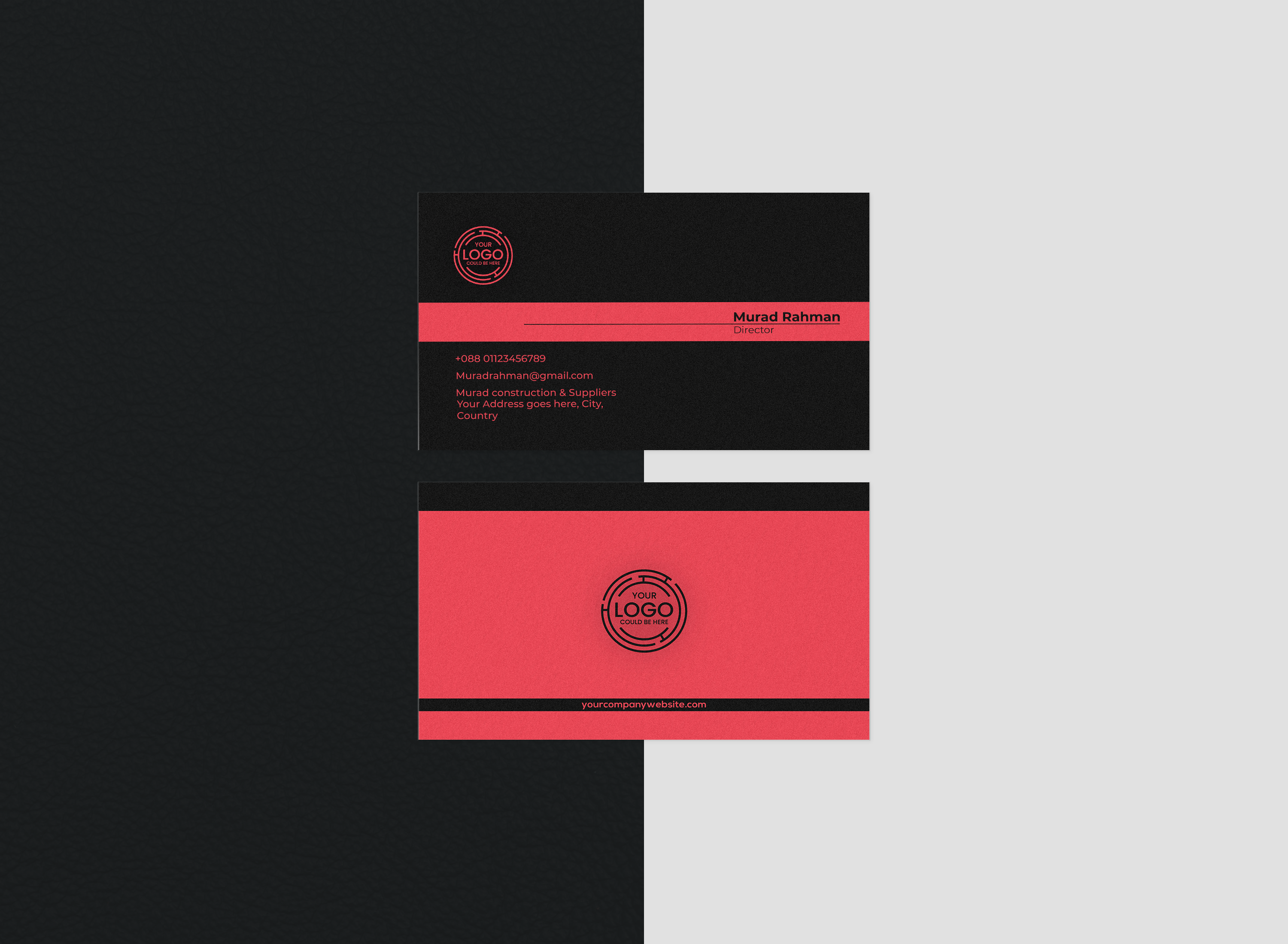 I will design unique business card for you within 18 hours