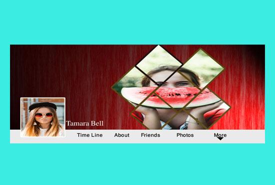 I will create attractive facebook cover