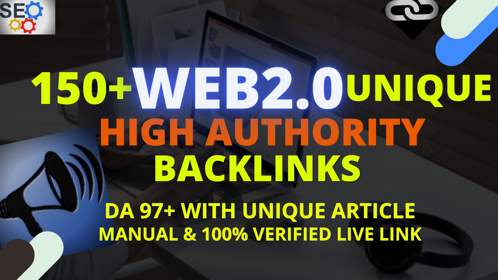 I will build 30 High Quality WEB 2 0 Backlinks With Unique Article