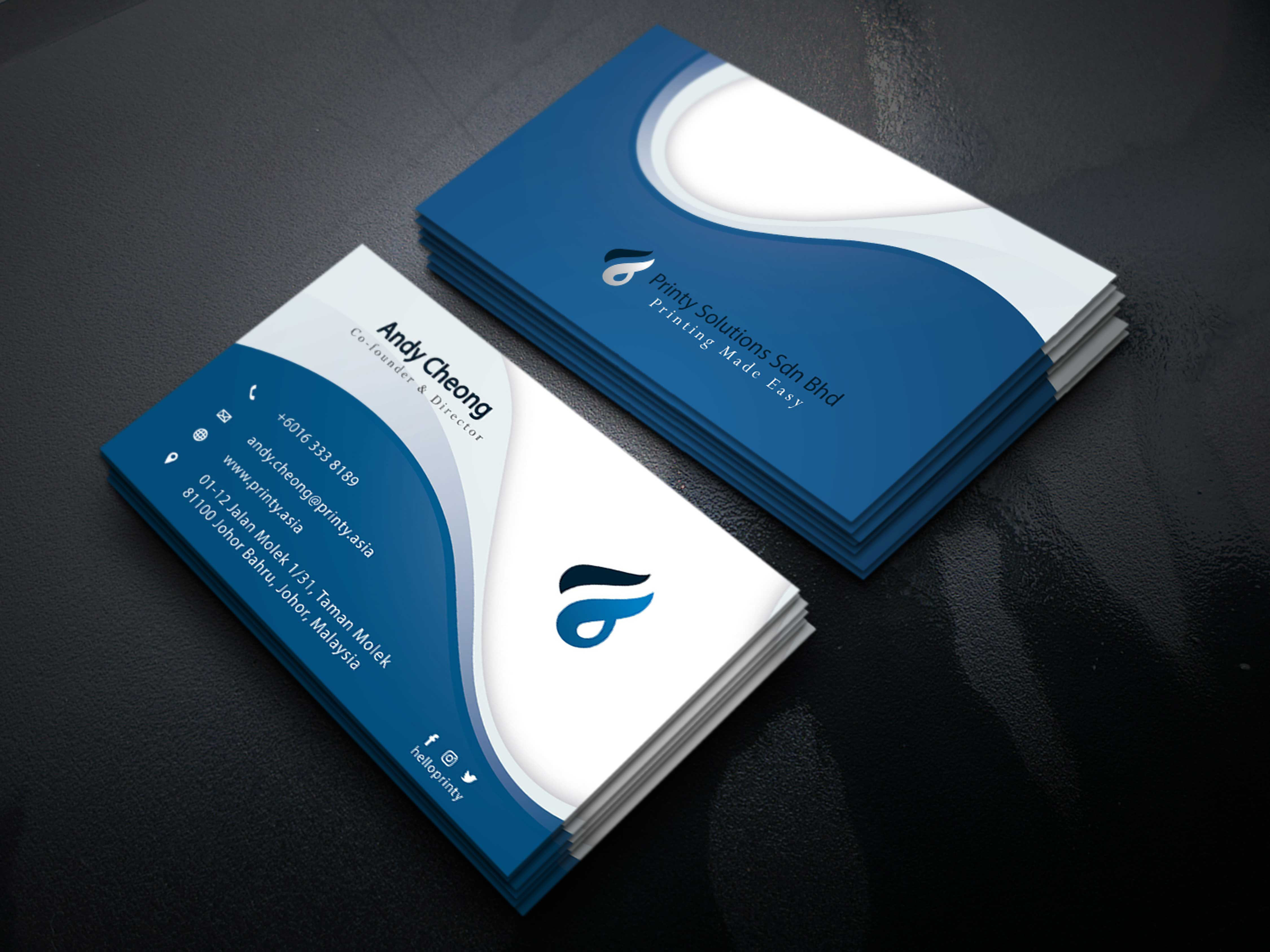 I will do Amazing Business Card design For you