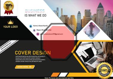 I Will Do Creative Social Media cover design