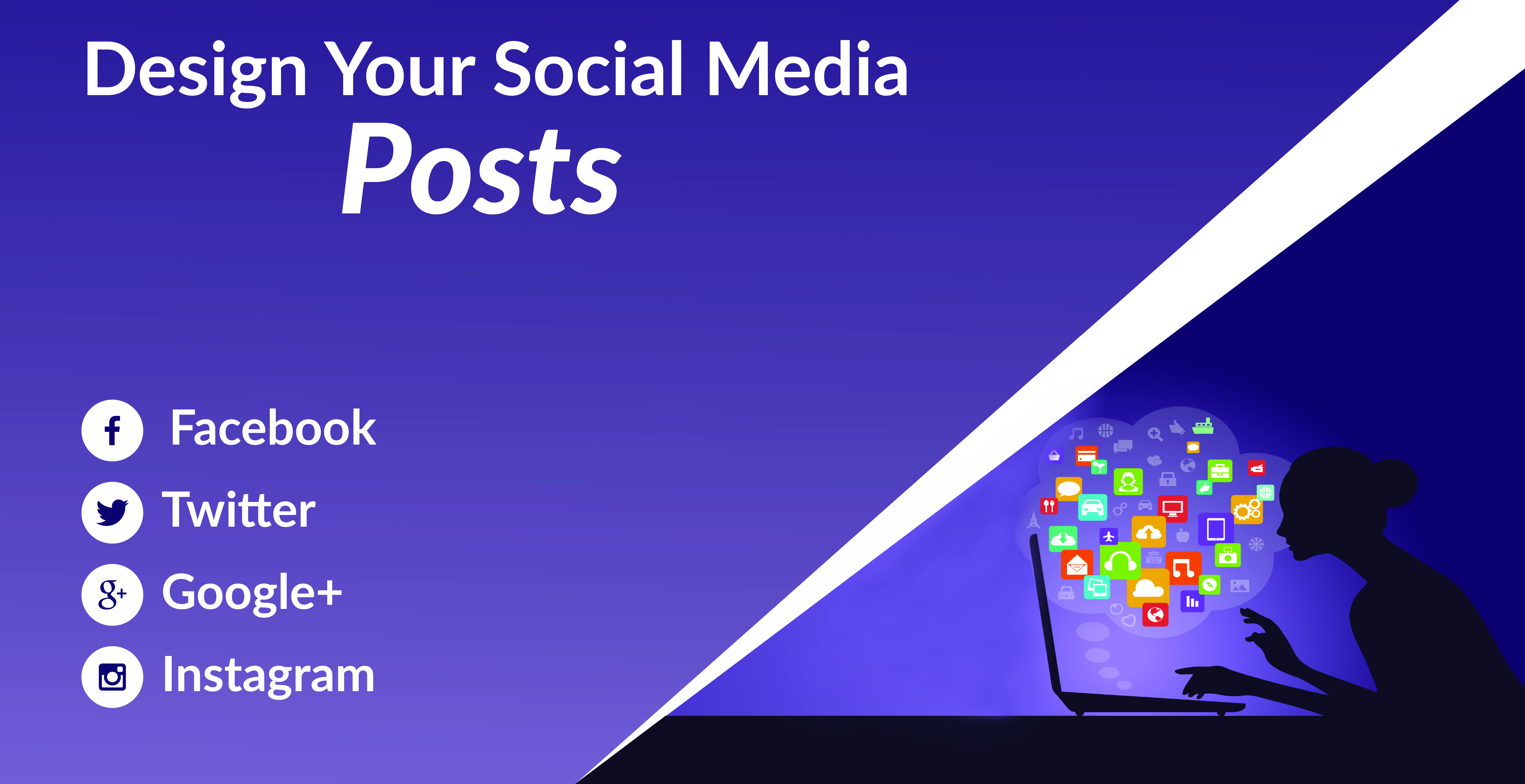 I will design a professional social media post for you