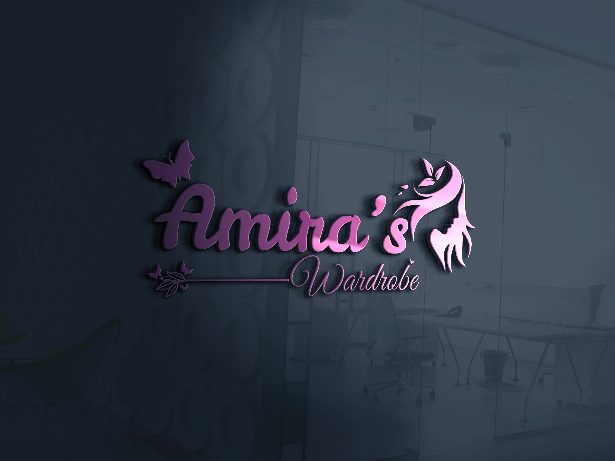 I will design elegant minimalistic unique logo