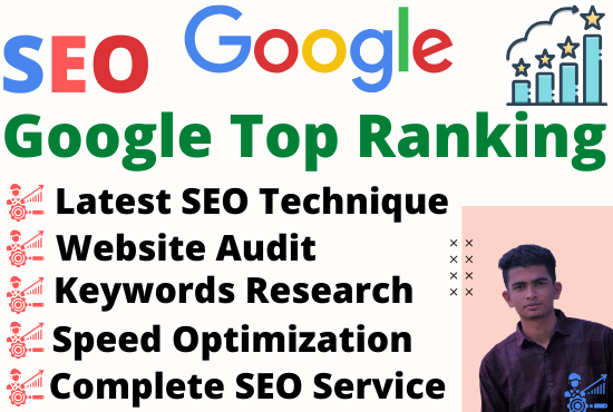 Full website on-page SEO services and ranking