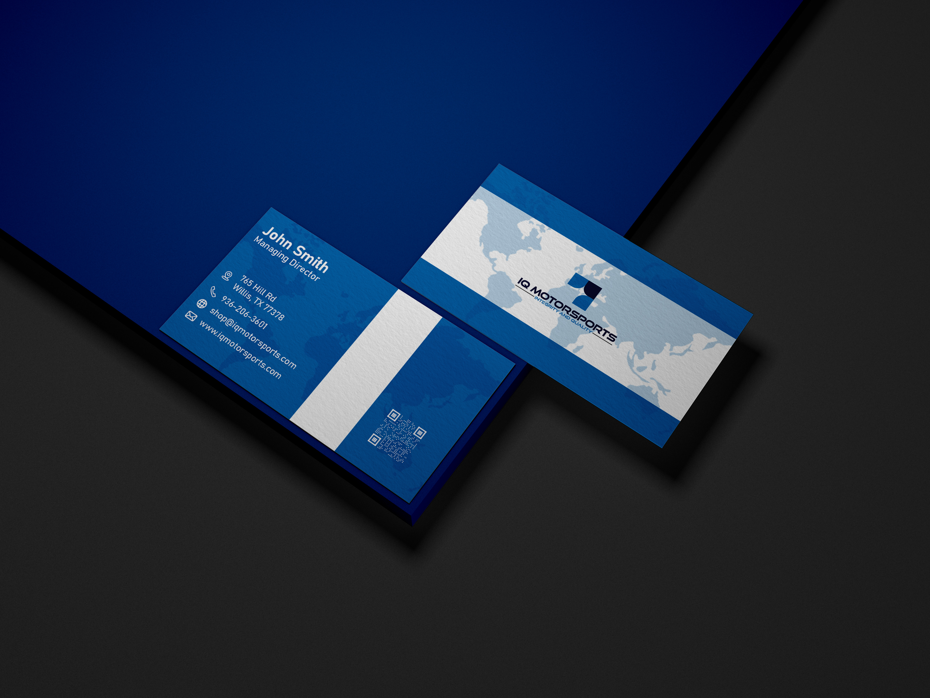 I Do Design Modern and Professional Business Card