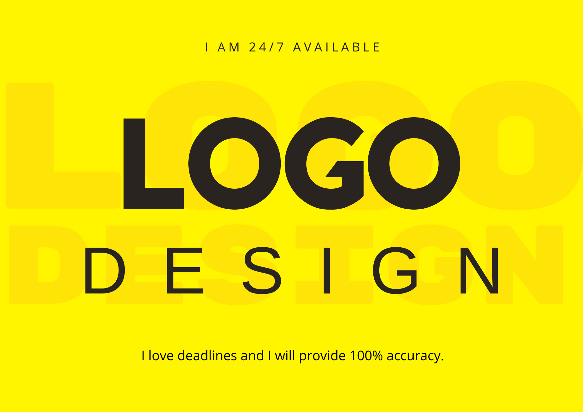 I will create your modern minimalist logo design