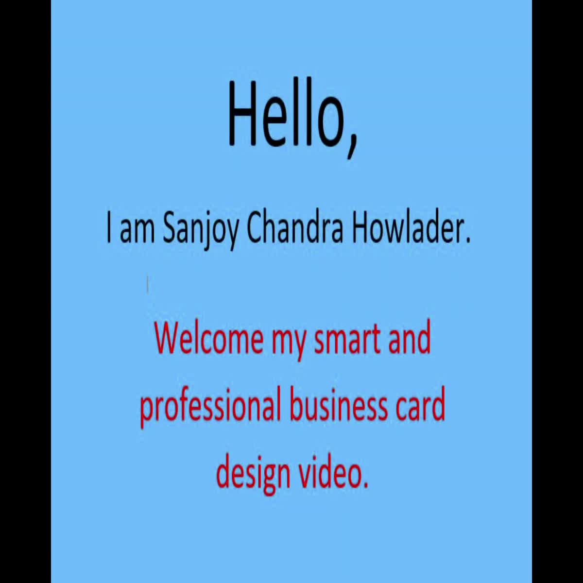 I will do a smart and professional business card design