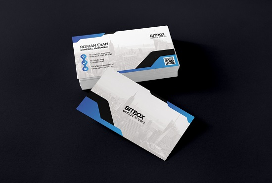 I will design your minimalist business card