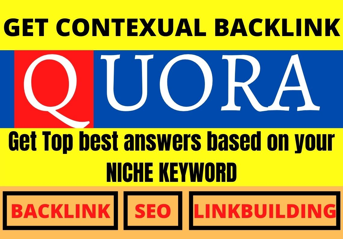 Promote your website with 10 HQ Contextual Quora answers