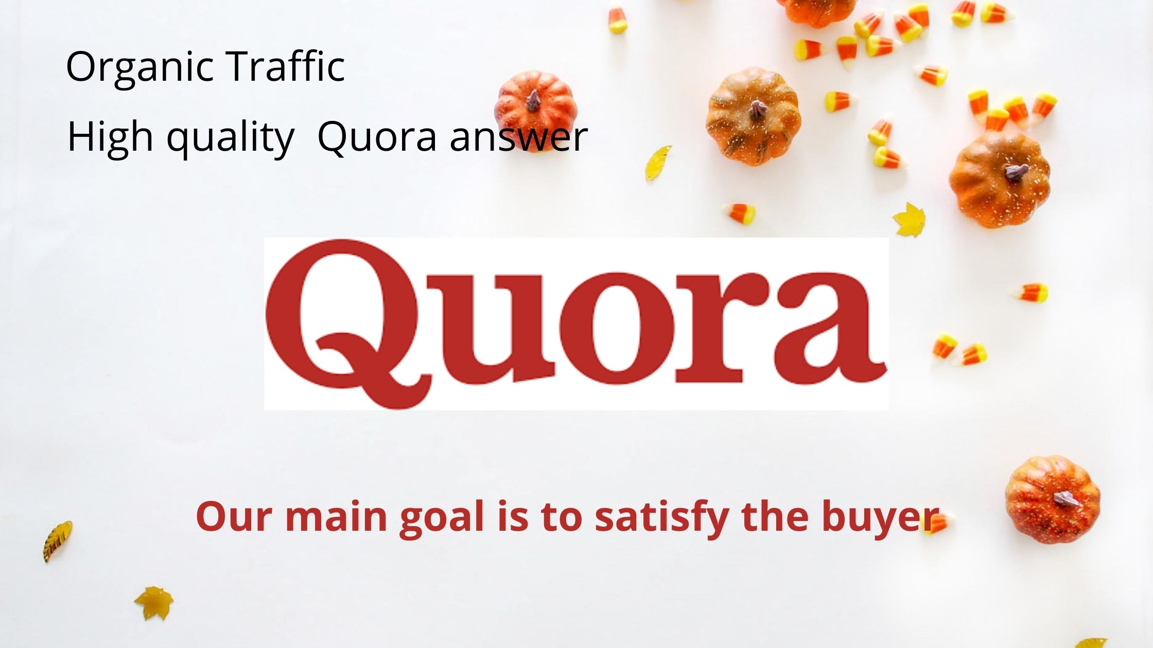 Provide high quality 20+ quora answer for your website