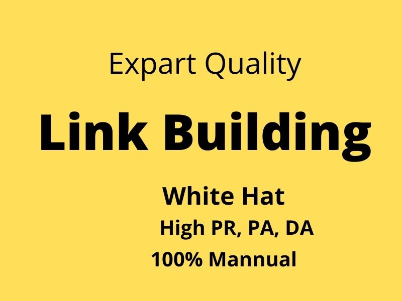 I Provide 50 Link Building in High DA sites, Backlinks