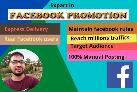 I will promote your business 1m traffic of the world