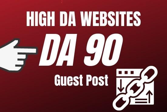 Provide authority backlinks service through a high da guest post