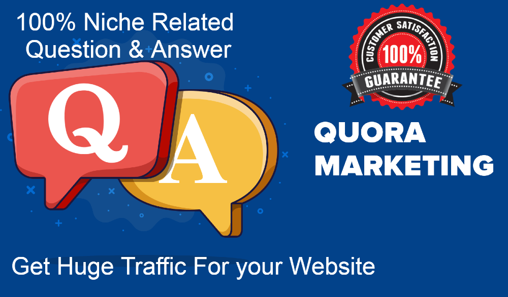 I give your website Niche related 10 Quora answers