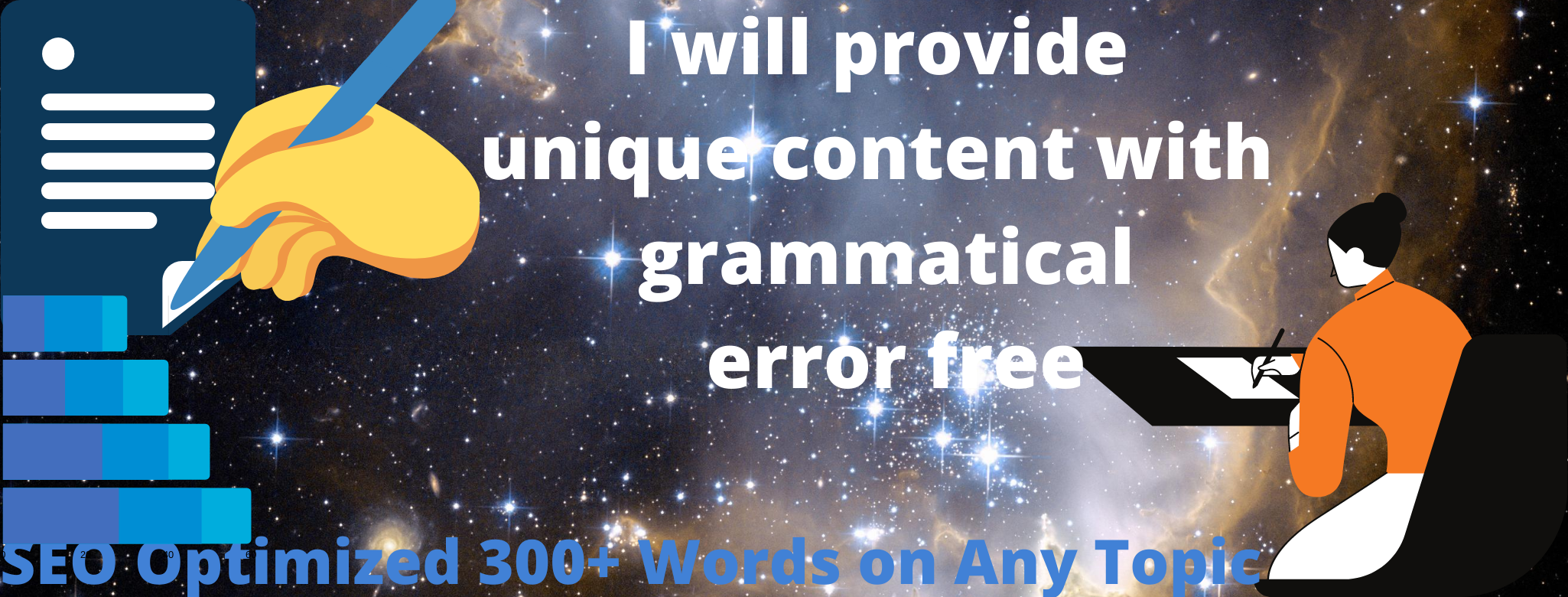 SEO Optimized 300+ Words Unique Article Writing on Any Topic