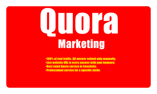 I provide you 10 Quora answer with more Traffic